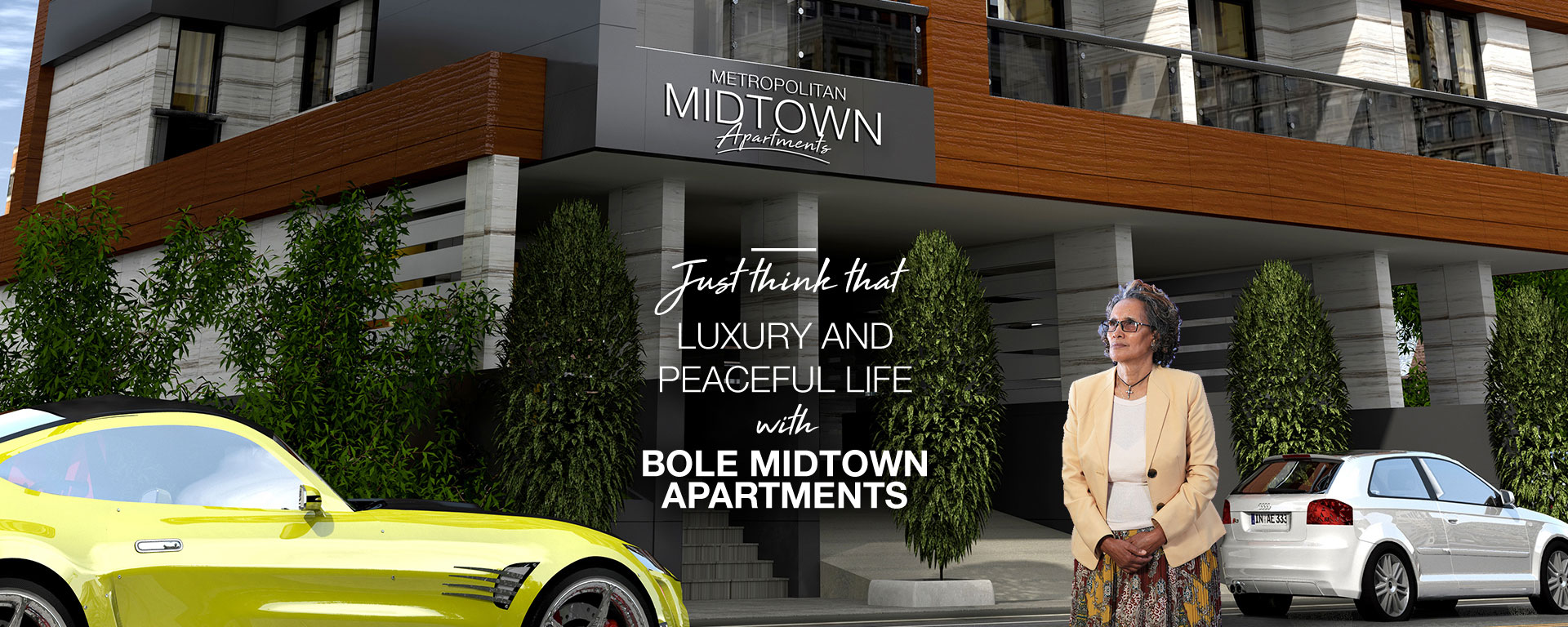 luxury and peaceful life with bole midtown apartments