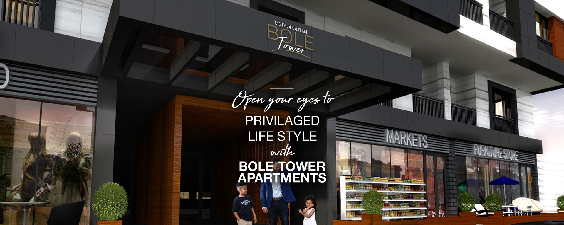 Bole Tower luxury apartment for sale in Addis Ababa