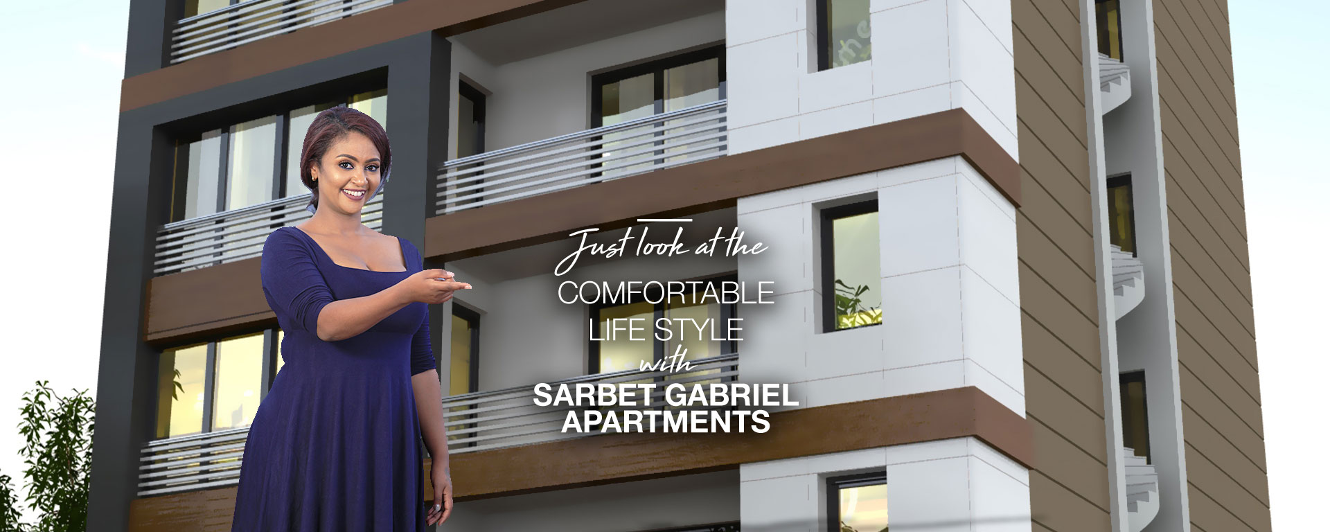 comfortable life style with Sarbet Gabriel Apartments