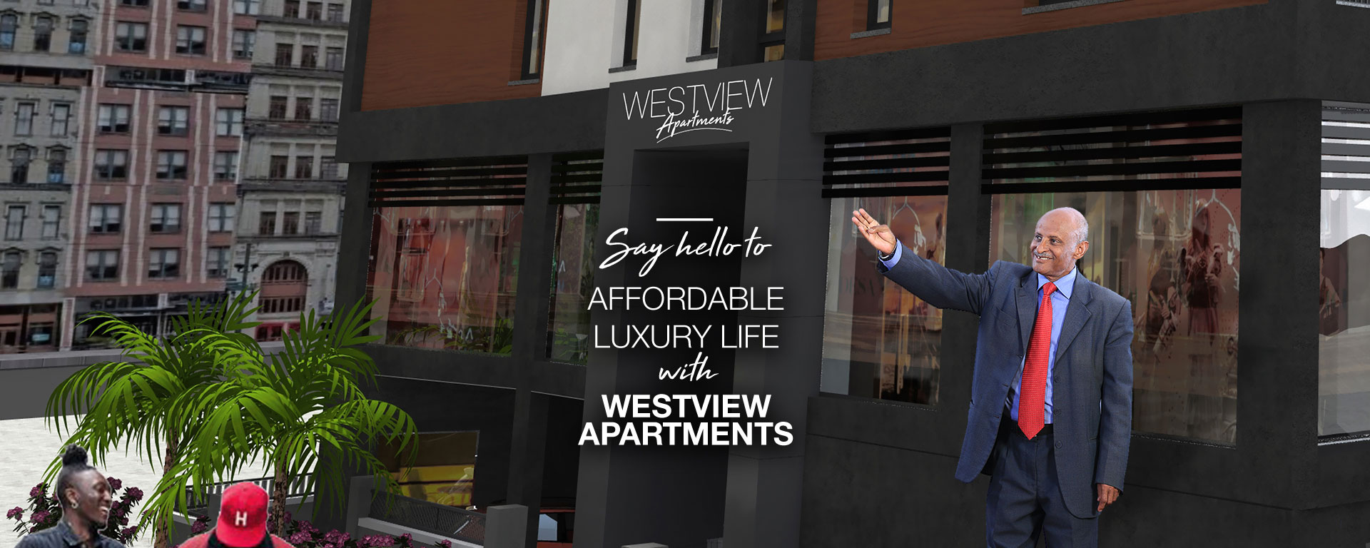 Affordable luxury life with westview apartments